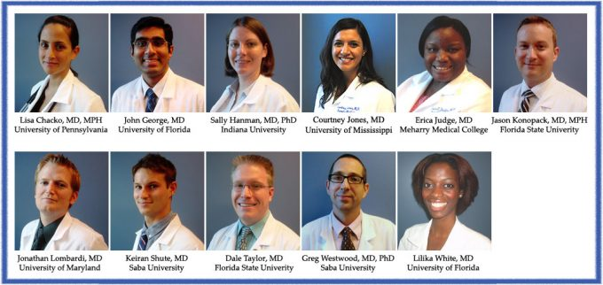 UF Family Medicine Residents Class of 2015-2016