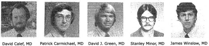 Family Medicine Residency Class of 1978