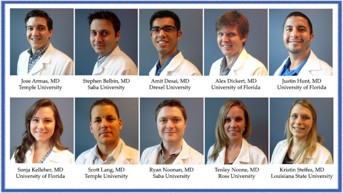 UF Family Medicine Residents Class of 2013-2014