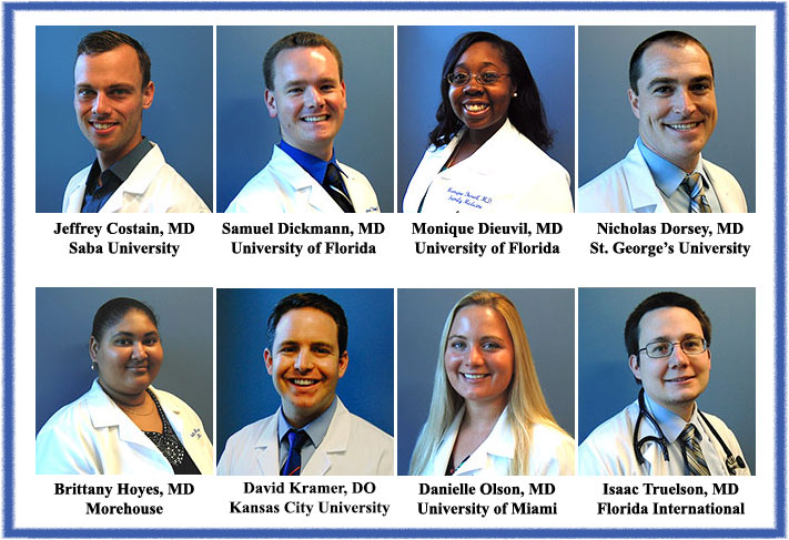 UF Family Medicine Residents Class of 2016-2017